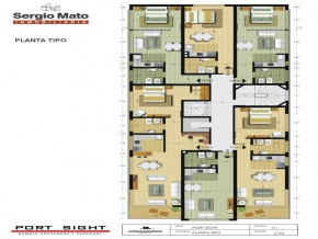 PortSight Colonia do Sacramento: apartamentos de 1 e 2 ambientes