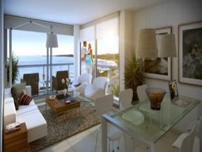 Apartamentos en venta en edificio Altos del Plata, Rambla Costanera de Colonia, Uruguay