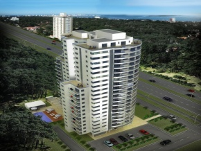 Stradivarius building Punta del Este Apartments 1, 2 and 3 bedrooms